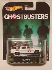 Hot Wheels Retro Entertaimant Ghostbusters Ecto-1!
