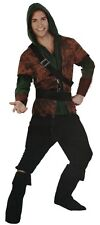 Adult Mens Hunter Costume Set Medieval Woodsman Thief Rogue Assassin Halloween