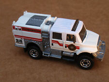 Matchbox INTERNATIONAL BRUSHFIRE from 5 Pack LOOSE White FIRE RESCUE FORESTRY
