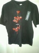 Vintage 1990 Depeche Mode Violator Tour Concert T Shirt Nu Wave Punk 80s Rock XL