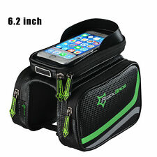 "RockBros Cycling Frame Bag Pannier Tube Bag Touchscreen Bike 6.2"" Phone Holder"