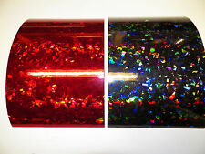 "Vinyl self adhesive 6""x9"" red or black crystal your choice (3 count)see photos"