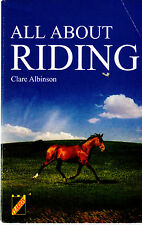 BOOK All About Riding - Clare Albinson (Paperback)