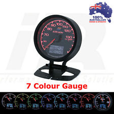 Greddy Multi D/A Oil Temp Gauge Digital Analog 7 Colour + VOLTS Universal Fit