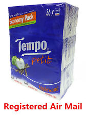 36 packs Apple wood Tempo Petit Pocket Tissues Paper 4ply cleaning handkerchiefs