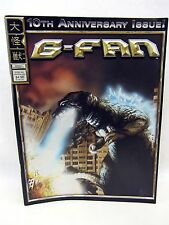kaiju Godzilla G-FAN Magazine #60 10th Anniversary Issue Ultraman Tiga, Yuasa