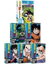 Dragon Ball Series Complete Seasons 1 2 3 4 5 + 4 Movie Pack Collection DVD NEW!