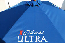 Michelob Ultra Beer Patio Beach Pool  7 FT. Umbrella - NEW & Free Shipping
