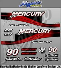 MERCURY 90hp - EFI - OUTBOARD DECALS