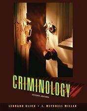 Criminology by J. Mitchell Miller and Leonard B. Glick (2007, Paperback)