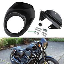 Neu Scheinwerfer Lampenmaske Verkleidung fairing Für Harley Sportster Dyna FX/XL