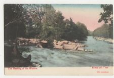 The Meeting Of The Waters Greta & Tees 1904 Postcard 424a