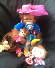 """rEDUCED Little Ascot"" Reborn Binki  Monkey With loads of accessories LOOK"