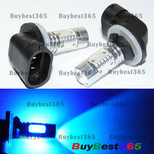 2x Xenon Blue 881 886 H27W/2 Cree COB LED projector Fog Driving Light Lamp bulb