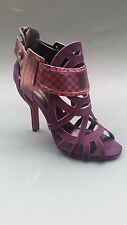 BNIB LOVELY NICHOLAS KIRKWOOD SUEDE & LEATHER DRESS -Y SHOES 37 UK 4