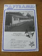09/02/1985 Pyramid Magazine: Issue 12 - St Albans City [Cover Image] & Middlesex
