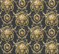 Tapete Chateau 4 AS Création Satintapete 95493-2 Barock Floral anthrazit gold (3