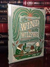 Wind in the Willows by Kenneth Grahame Illustrated New Leather Bound Collectible