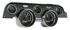 Dakota Digital 67 68 Ford Mustang Analog Dash Gauges Black Alloy Red VHX-67F-MUS