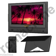 """Lilliput 7"""" 5D-II/O HDMI In & Out Monitor Canon 5D Mark II III 5d2+F970 adapter"""
