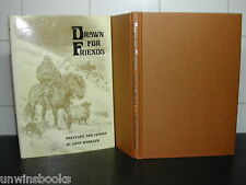 DRAWN for FRIENDS illus Joan Wanklyn 1st Ed HORSE Sketches POEMS Ponies PONY Art