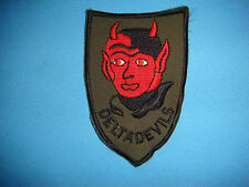 """VIETNAM WAR PATCH, US 235th AERIAL WEAPONS COMPANY """" DELTA DEVILS"""""""