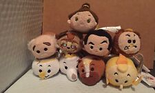Disney Parks U.S. Beauty And The Beast Mini Tsum Tsum Set Of 9