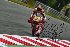 Luca Marini Hand Signed 12x8 Photo Forward Racing Kalex Moto2 2016 MOTOGP.