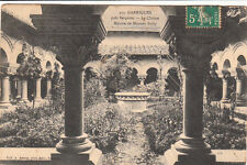 GARRIGUES 373 le cloître maison de mounet-sully timbrée