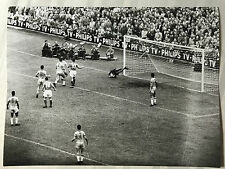 photo press football   World Cup 1958    France-Brazil      220