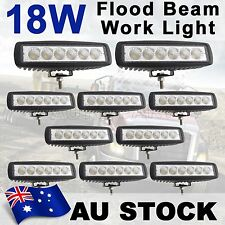 10X 18W LED Flood Work Driving Light Bar Razor Snowmobile Jeep 4WD Lamp AU SHIP