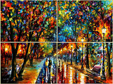 When Dreams Come True (set of 4)- Oil Painting On Canvas By Leonid Afremov Huge