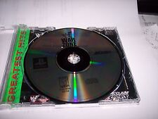 WWF WARZONE --- PLAYSTATION PS1  - DISC ONLY / NO MANUAL