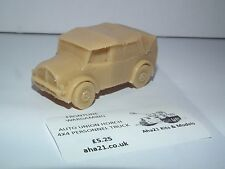 FRONTLINE WARGAMING AUTO UNION HORCH 4X4 PERSONNEL TRUCK RESIN MODEL KIT - G6