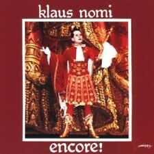 KLAUS NOMI - ENCORE (NOMI'S BEST)  CD 13 TRACKS INTERNATIONAL POP  NEU
