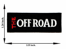 Off Road 4x4 Jeep Automobile Car Pick-Up Logo Applique Iron on Patch Sew For Hat