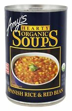 Amys - Organic Hearty Soup Spanish Rice & Red Bean - 14.7 oz.