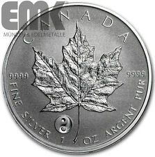 Kanada - 5 Dollar 2016 - Maple Leaf - Privy Mark Yin Yang - 1 Oz. Silber