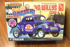 AMT THREE STOOGES CURLY'S GASSER '40 WILLYS COUPE 1/25 MODEL KIT