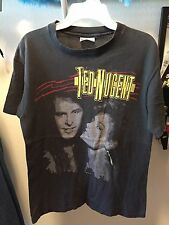 TED NUGENT Vintage Little Miss Dangerous T Shirt Medium 80's Tour Concert 1986