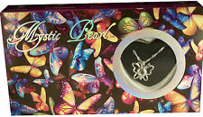 """Wish Pearl, Love Pearl, Mystic Pearl """"Oyster + Necklace + Pearl"""" ~ Butterfly"""