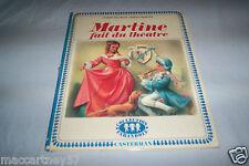 ANCIEN ALBUM MARTINE FAIT DU THEATRE 19 pages de l'année 1969