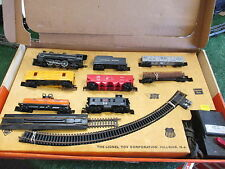LIONEL POSTWAR #14153 SOUTHERN PACIFIC HO RTR STEAM FREIGHT Set/OB 1963 NICE