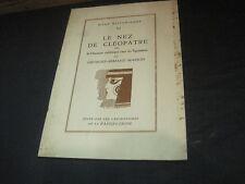 Georges-Armand MASSON: le nez de Cléopatre. illustré par TOUCHET