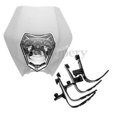 Headlight Headlamp for Enduro Motocross Dirt Bike KTM SX EXC XCF SXF SMR White