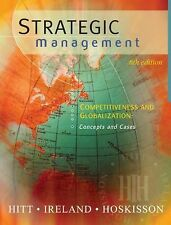 Strategic Management: Competitiveness and Globalization, Concepts and Cases