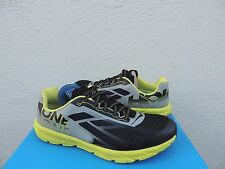 HOKA ONE ONE TRACER BLACK CITRUS ROAD RUNNING SHOES, US 10.5 / EUR 44 2/3 ~ NEW