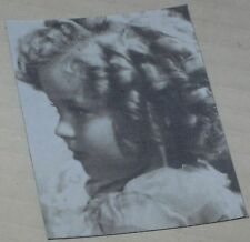 """Shirley Temple """"The Curls"""" Floppy Magnet  See Description 2.5"""" x 2"""""""