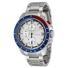 Tommy Hilfiger Jace Multi-function Silver Dial Stainless Steel Mens Watch