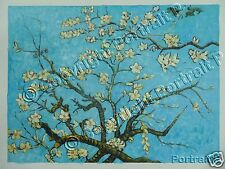 Vincent van Gogh Oil Painting Branches of an Almond Tree in Blossom Reproduction